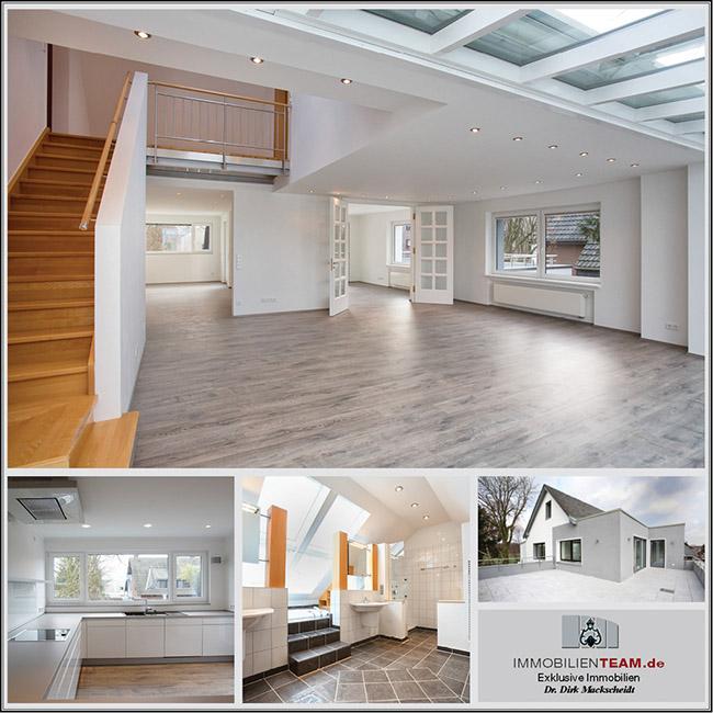 exklusive penthouse maisonette mietwohnung in oberhausen k nigshardt. Black Bedroom Furniture Sets. Home Design Ideas
